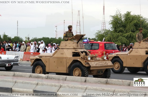 Qatar Armed Forces Ferret Mk2 armoured cars.