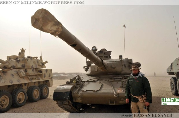 The Qatar Armed Forces AMX-30 and the Qatar Emiri Guard Brigade MOWAG Piranha II 8×8 w/90mm CCTS turret during the exercise.