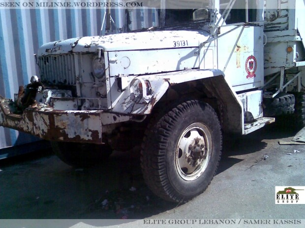 Ex-UNIFIL NORBATT M621 cargo truck used by the Lebanese Civil Defense, February 2013.