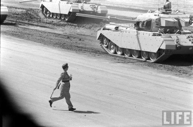 Royal Iraqi Army Centurion Mk 5/1 MBTs, 1957.