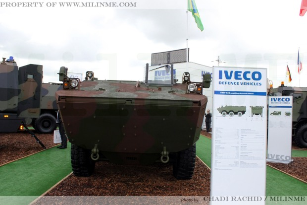The Iveco VBTP at Eurosatory 2012.