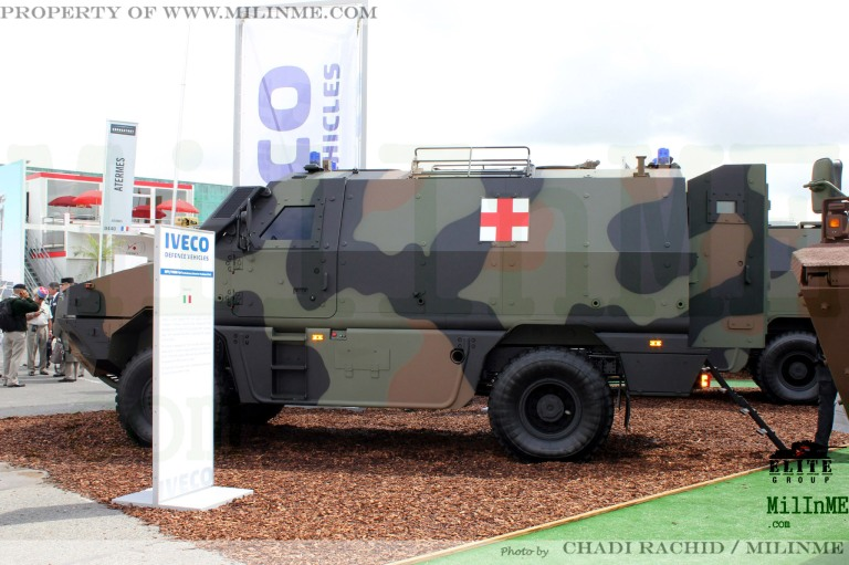 The Iveco MPV at Eurosatory 2012.